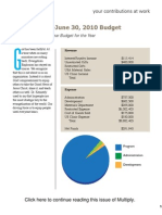 Budget (Spring Multiply 09)