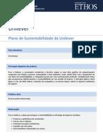 Unilever Plano de Sustentabilidade Da Unilever1