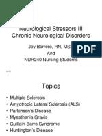 Neuro Stressors 3 Student