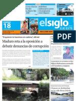 Edicion Eje Este Domingo 18-08-2013