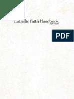 Catholic Faith Handbook PDF