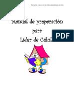 MANUAL DE PREPARACION DE LIDERES PARA CELULA DE NIÑOS