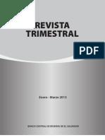 Revista Trimestral Bcr Marzo de 2013