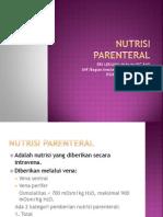 Nutrisi Parenteral Icu