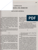 Capitulo VI La Filosofia Del Derecho