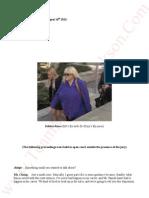 Katherine Jackson V AEG Live Transcripts of Debbie Rowe (MJ's Ex wife-Dr Klein's Ex nurse) August 14th 2013