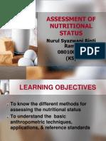 Nurul Syazwani - (Community Nutrition)