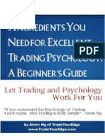5 Ingredients You Need for Excellent Trading Psychology a Beginner's Guide