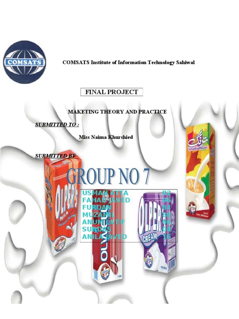 Marketing Project 20   PDF   Brand   Milk
