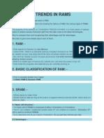 Ram Classiffications