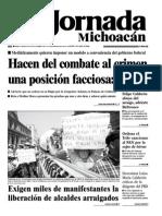 Jornada Michoacan 04 Jun