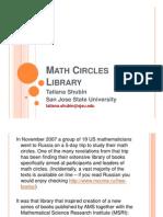 Math Circles Library
