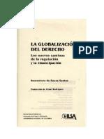 132426068 Santos Boaventura de Sousa La Globalizacion Del Derecho