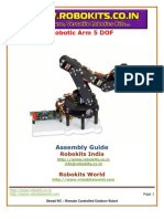 Robotic Arm 5 DOF tutorial