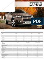 Chevrolet Captiva 2013 (Spanish)
