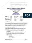 Finance 412 – Advanced Business Finance – Spring 2000