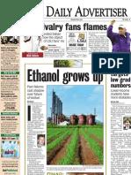 Days 1, 2 and 4 of Louisiana/Brazil Ethanol Series