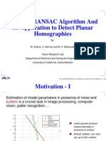 RANSAC Presentation