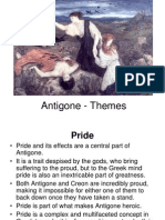 Antigone - Themes