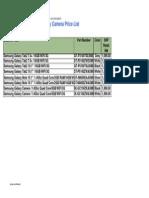 Billion Tech Enterprise - Samsung Galaxy Price List (1st Mar 2013) 0