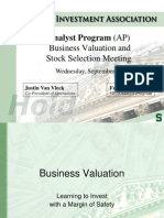 2008FValuation Presentation 1