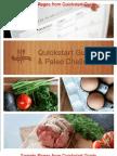 Sample Unbranded Paleo Plan Quickstart Guide and Paleo Challenge