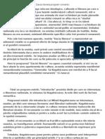 Dacia Literara Si Intreaga Miscare Ideologica