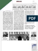 Rassegna Stampa 18.08.2013