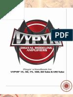 Peavey Vypyr 75W Manual