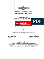 19100965 Kotak Mahindra Project