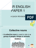 UPSR English Paper 1