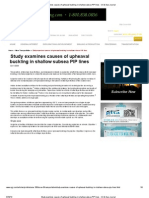 Study Examines Causes of Upheaval Buckling in Shallow Subsea PIP Lines - Oil & Gas Journal