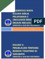 20130805-PPT Course 3- Penjelasan Budaya Toileting