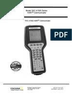 Hart Communicator YHC4150X Yokogawa Manual