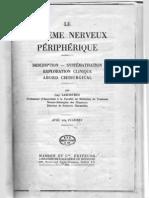 Sistemul nervos periferic 1955
