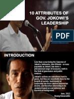 10 ATTRIBUTES OF JOKOWI LEADERSHIP