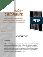 Inflamación y Osteoartritis