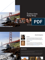 Golden Gate Ruby Wrap