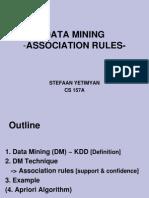 Data mining Association Rules