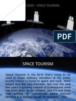 Vision 2020 - Space Tourism