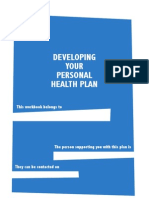 Personal Health Work Book