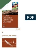 New Caledonia- Customary Rights
