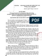 """Quyết định V/v phê duyệt báo cáo đánh giá tác động môi trường của Dự án """"Đầu tư xây dựng công trình hầm đường bộ qua Đèo Cả - QL1, tỉnh Phú Yên và tỉnh Khánh Hòa""""."""