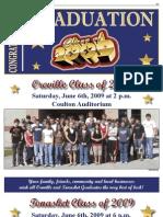 Okanogan Valley Gazette-Tribune  - Graduation 2009