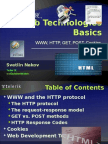 Web Technologies Fundamentals and HTTP