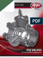 Pigging Valve Brochure Argus Valves
