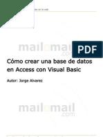 Como Crear Una Base de Datos en Access Con Visual Basic