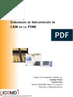 Estrategias De Implantación Crm En La Pyme