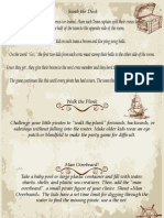 Pirate Games Instructions