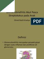 Glomerulonefritis Akut Pasca Streptokokus Pada Anak